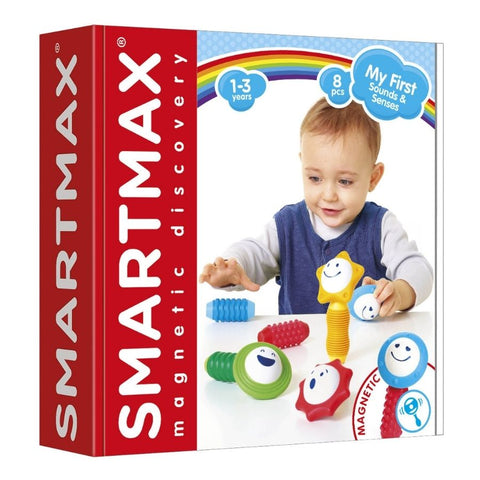 Smartmax My First Sounds and Senses Magnetic Construction | KidzInc