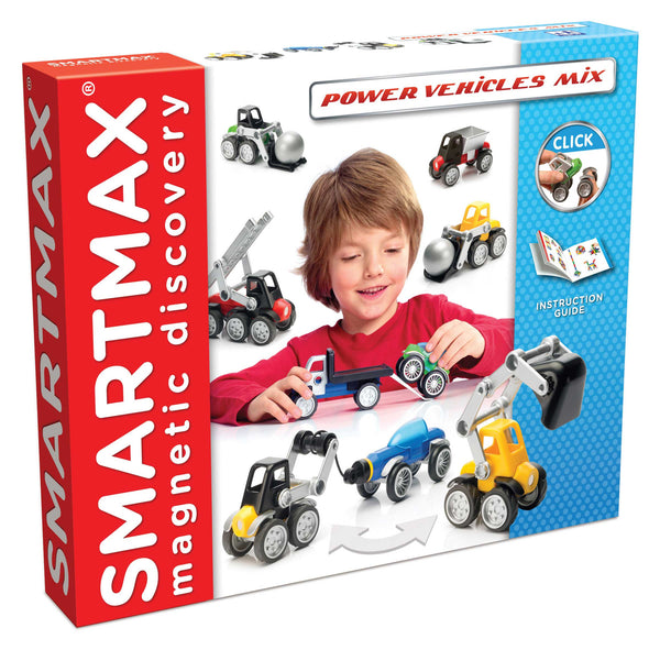 SmartMax Magnetic Discovery - Power Vehicles Mix | KidzInc Australia | Online Educational Toy Store