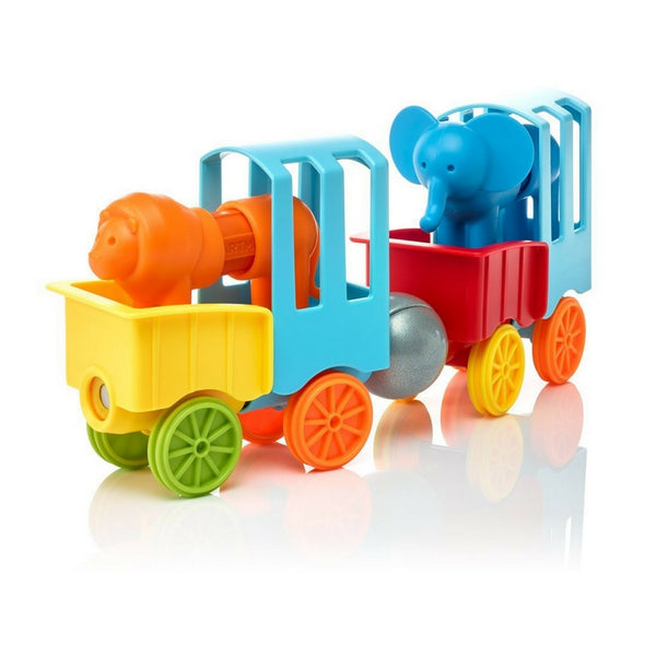 SmartMax Magnetic Discovery - My First Animal Train | KidzInc Australia | Online Educational Toy Store
