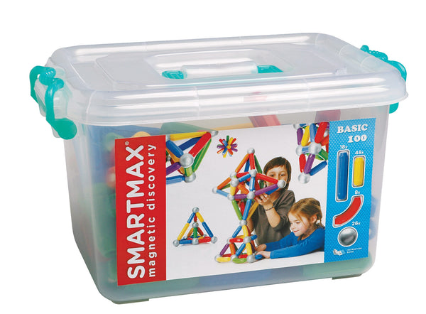 SmartMax Magnetic Discovery - Educational Set 100 Pieces | KidzInc Australia | Online Educational Toy Store