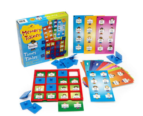 Top Class - Memory Trainer Times table | KidzInc Australia | Online Educational Toy Store