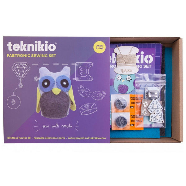 Teknikio - Fabtronic Sewing Set | KidzInc Australia | Online Educational Toy Store