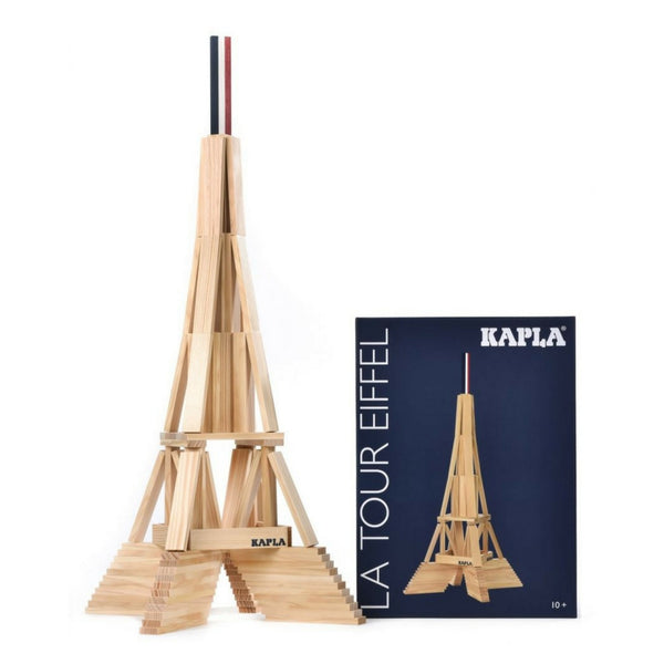 Kapla - Eiffel Tower 105 Wooden Planks | KidzInc Australia | Online Educational Toy Store
