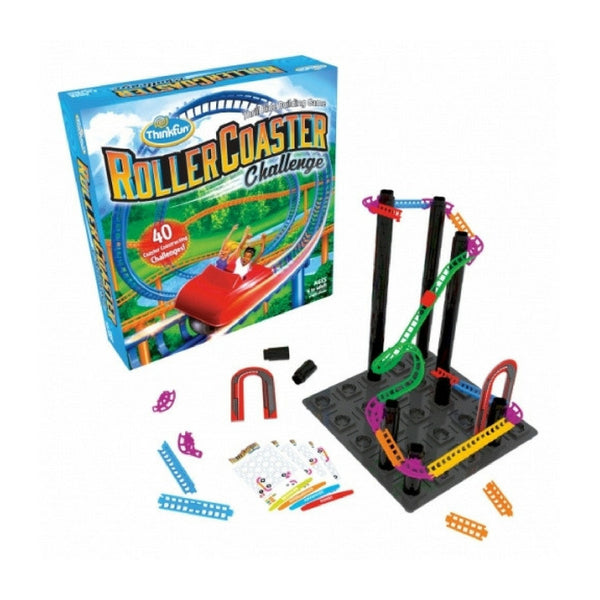 ThinkFun - Roller Coaster Challenge Game | KidzInc Australia | Online Educational Toy Store