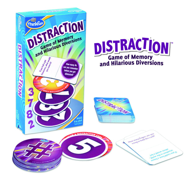 ThinkFun - Distraction Card Game | KidzInc Australia | Online Educational Toy Store