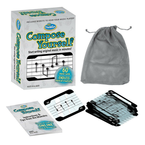 ThinkFun - Compose Yourself Music Card Game (In Stock) | KidzInc Australia | Online Educational Toy Store