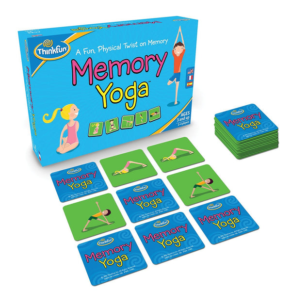 ThinkFun - Memory Yoga Game | KidzInc Australia | Online Educational Toy Store