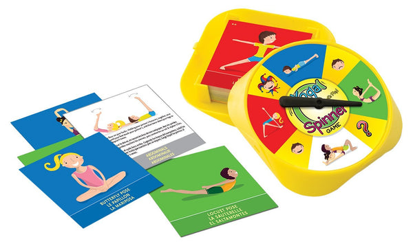 ThinkFun - Yoga Spinner Game | KidzInc Australia | Online Educational Toy Store