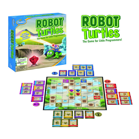 ThinkFun - Robot Turtles Game | KidzInc Australia | Online Educational Toy Store