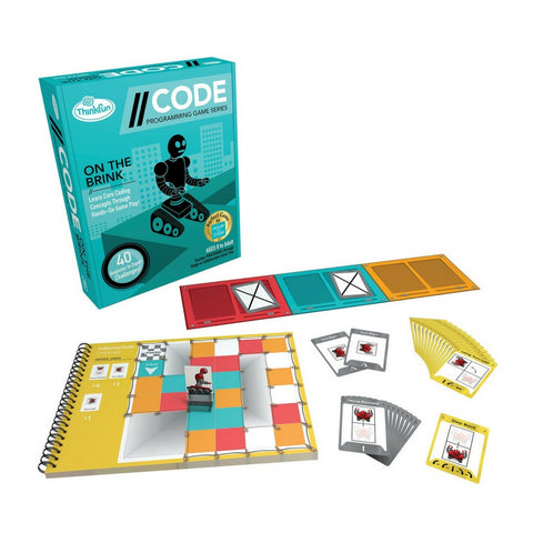 ThinkFun - Code: On The Brink Coding Game | KidzInc Australia | Online Educational Toy Store