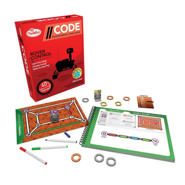 ThinkFun - Code: Rover Control Coding Game | KidzInc Australia | Online Educational Toy Store