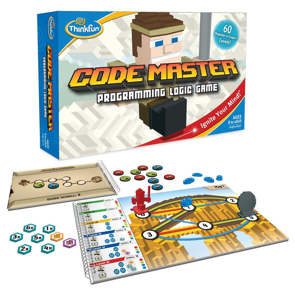 ThinkFun - Code Master Programming Logic Game | KidzInc Australia | Online Educational Toy Store
