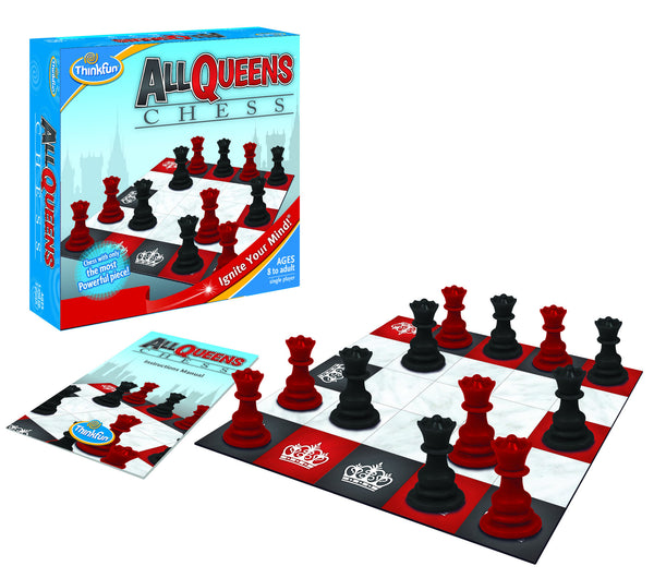 ThinkFun - All Queens Chess Game | KidzInc Australia | Online Educational Toy Store