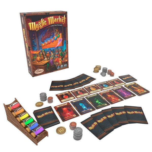 ThinkFun Mystic Market Game Strategy Card Game | KidzInc Australia | Online Educational Toys