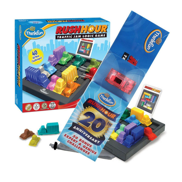 Thinkfun - Rush Hour 20th Year Anniversary Bundle | KidzInc Australia | Online Educational Toy Store