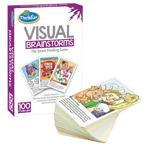 ThinkFun - Visual Brainstorms Game | KidzInc Australia | Online Educational Toy Store