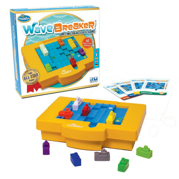 ThinkFun - WaveBreaker Logic Game | KidzInc Australia | Online Educational Toy Store