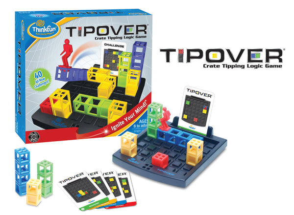 ThinkFun - Tip Over Game | KidzInc Australia | Online Educational Toy Store