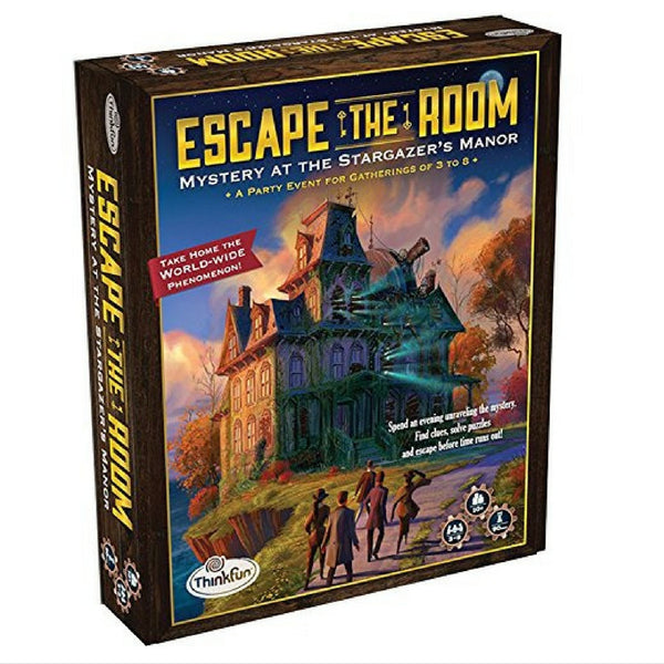 ThinkFun - Escape The Room: Mystery at the Stargazer's Manor | KidzInc Australia | Online Educational Toy Store