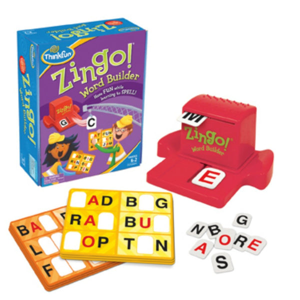 ThinkFun - Zingo! Word Builder Game | KidzInc Australia | Online Educational Toy Store