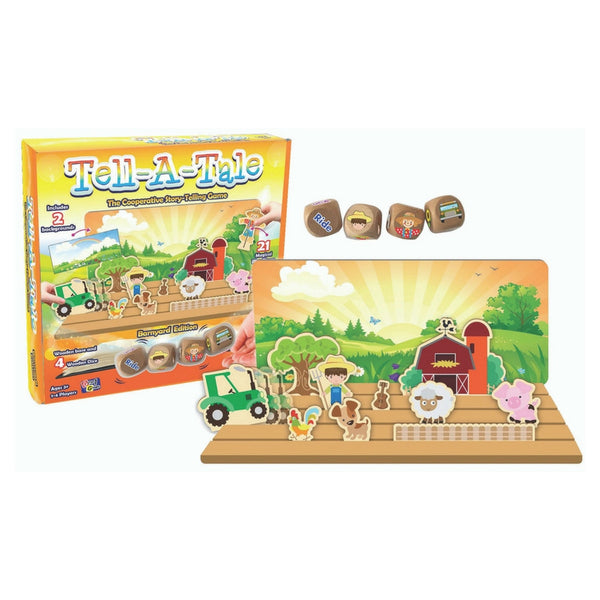 Getta 1 Games - Tell A Tale: Barnyard Edition Game | KidzInc Australia | Online Educational Toy Store