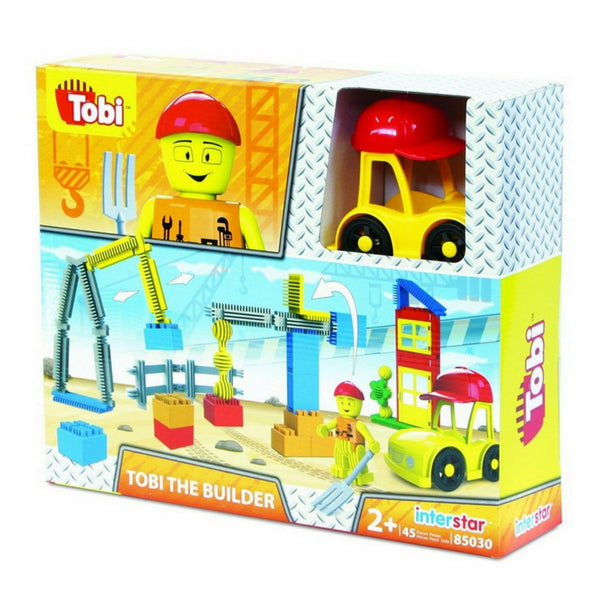 Interstar - Tobi the Builder (45 Pieces) | KidzInc Australia | Online Educational Toy Store