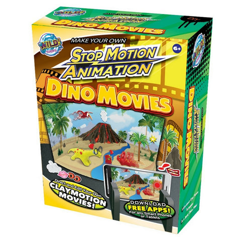 Wild Science - Stop Motion Animation Dino Movies | KidzInc Australia | Online Educational Toy Store
