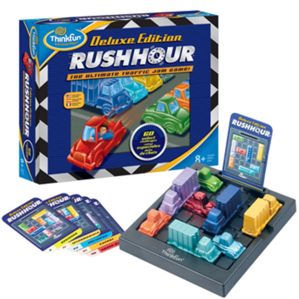 ThinkFun - Rush Hour Deluxe Edition Game | KidzInc Australia | Online Educational Toy Store