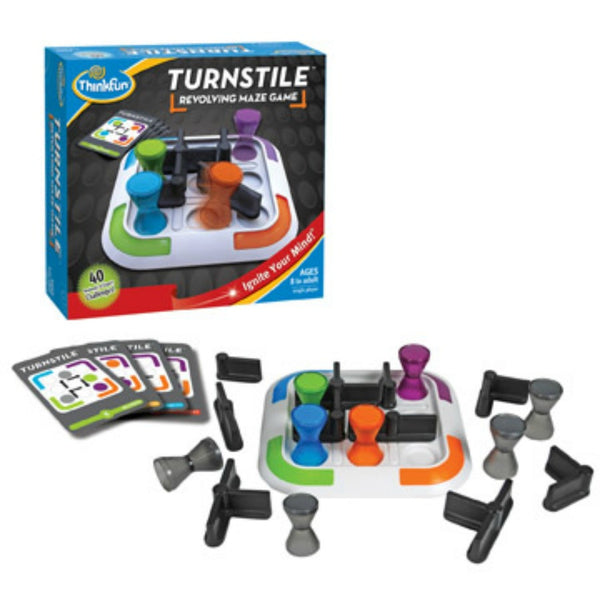 ThinkFun - Turnstile Game | KidzInc Australia | Online Educational Toy Store
