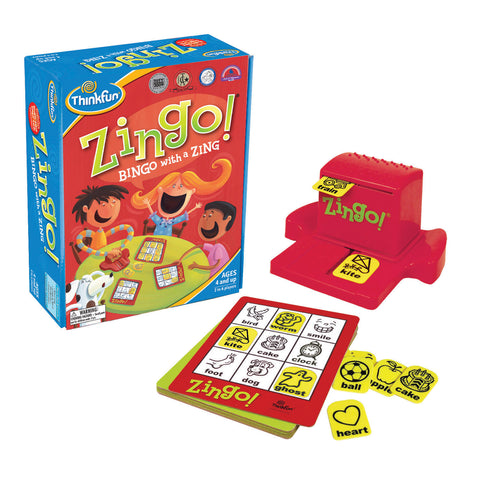 ThinkFun - Zingo! Game | KidzInc Australia | Online Educational Toy Store