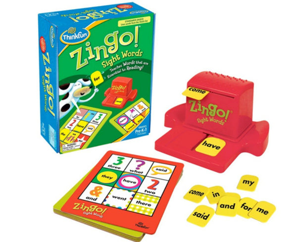 ThinkFun - Zingo! SightWords Game | KidzInc Australia | Online Educational Toy Store