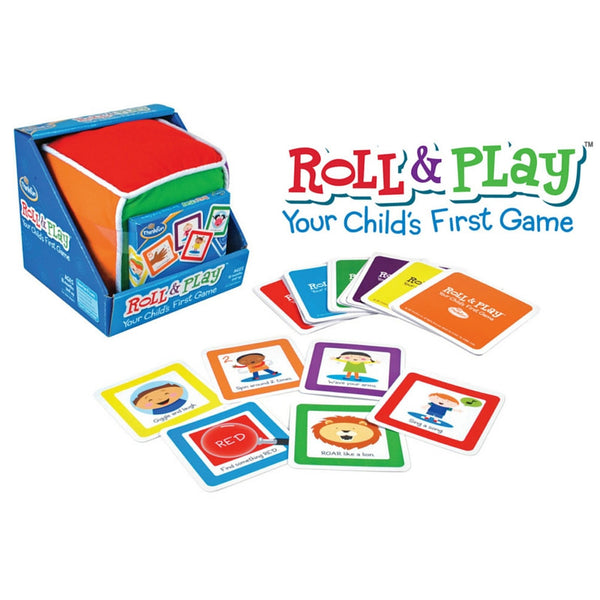 ThinkFun - Roll & Play Game | KidzInc Australia | Online Educational Toy Store