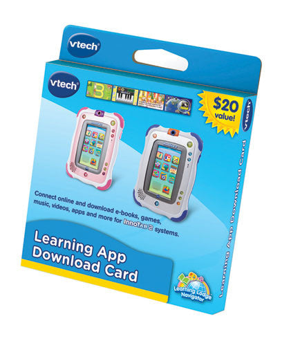 VTech - InnoTab2 $20 Learning App Download Card | KidzInc Australia | Online Educational Toy Store