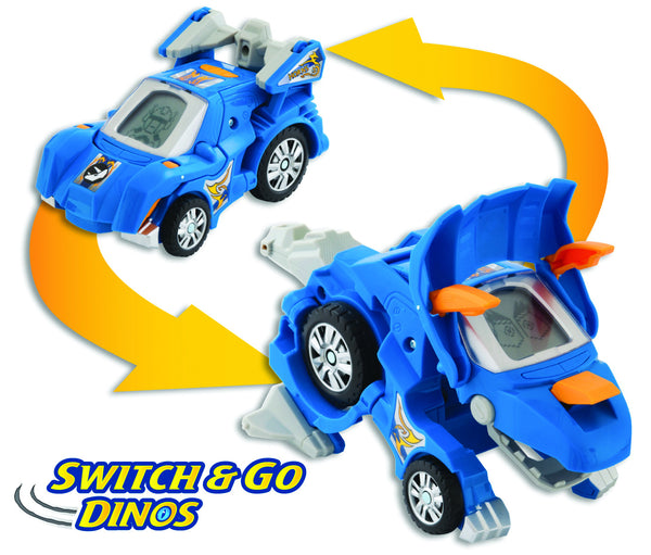 VTech Switch & Go Dinos : Horns the Triceratops | KidzInc Australia | Online Educational Toy Store