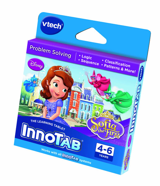 VTech InnoTab Disney Sofia Software Cartridge | KidzInc Australia | Online Educational Toy Store