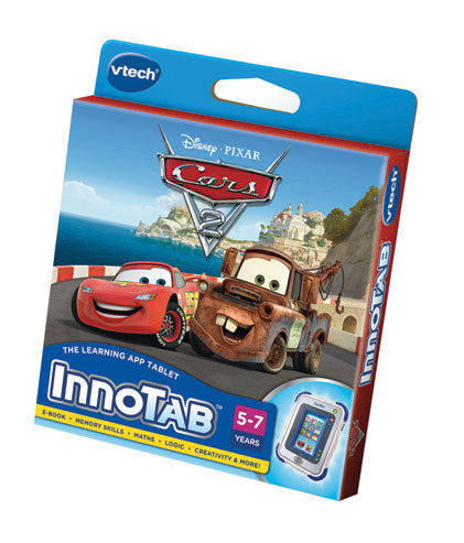 VTech - InnoTab2 Cars 2 Software Cartridge | KidzInc Australia | Online Educational Toy Store