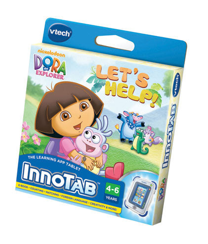 VTech - InnoTab2 Dora the Explorer Software Cartridge | KidzInc Australia | Online Educational Toy Store