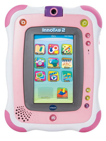 VTech - InnoTab2 Learning Tablet - Pink | KidzInc Australia | Online Educational Toy Store