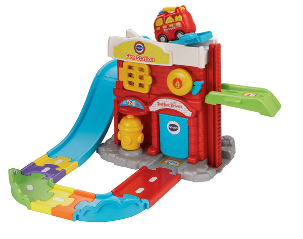VTech Toot-Toot Drivers Fire Station | KidzInc Australia | Online Educational Toy Store