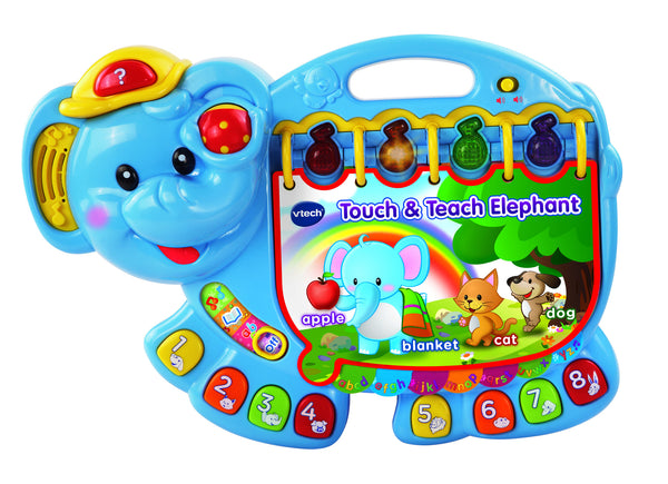 VTech Touch and Teach Elephant | KidzInc Australia | Online Educational Toy Store