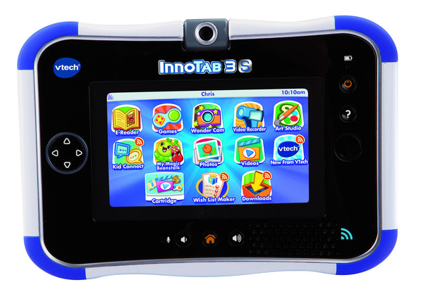 VTech InnoTab 3S with Rechargeable Battery - Blue | KidzInc Australia | Online Educational Toy Store