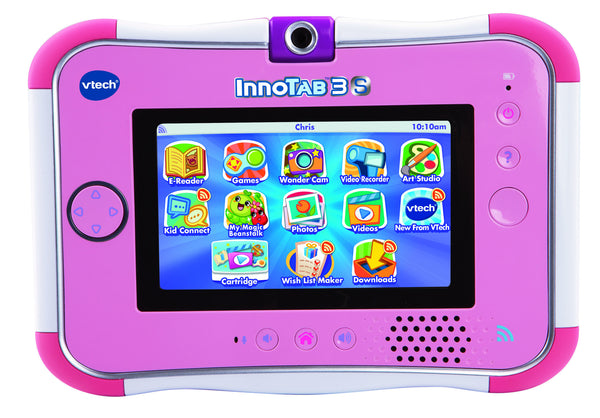 VTech InnoTab 3S with Rechargeable Battery - Pink | KidzInc Australia | Online Educational Toy Store