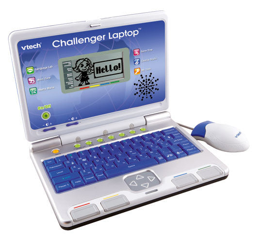 VTech - Challenger Laptop - Blue/Silver | KidzInc Australia | Online Educational Toy Store
