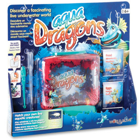 Aqua Dragons - Underwater World Box Kit | KidzInc Australia | Online Educational Toy Store