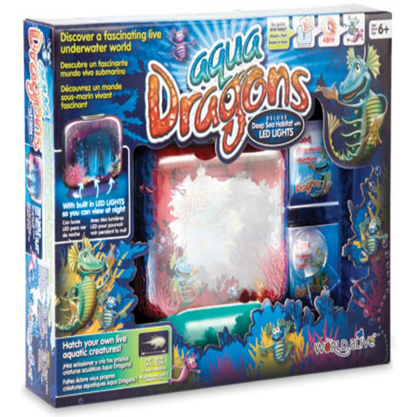 Aqua Dragons - Deep Sea Habitat with LED Lights | KidzInc Australia | Online Educational Toy Store