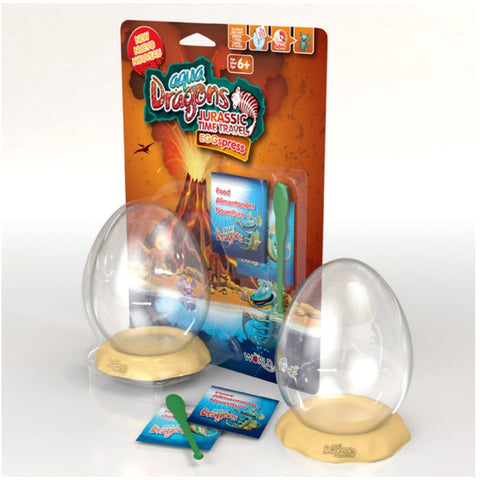 Aqua Dragons - Jurassic EGGspress Blister | KidzInc Australia | Online Educational Toy Store