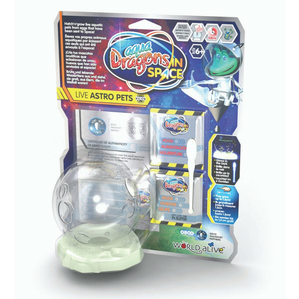Aqua Dragons - In Space: Live Astro Pets | KidzInc Australia | Online Educational Toy Store