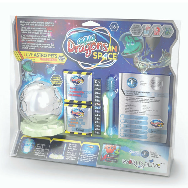 Aqua Dragons - In Space: Live Astro Pets Deluxe | KidzInc Australia | Online Educational Toy Store