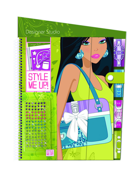 Style Me Up - Fashion Purse Sketchbook | KidzInc Australia | Online Educational Toy Store