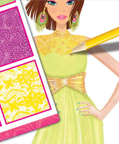 Style Me Up - Glamorous Nights Fashion Sketchbook | KidzInc Australia | Online Educational Toy Store